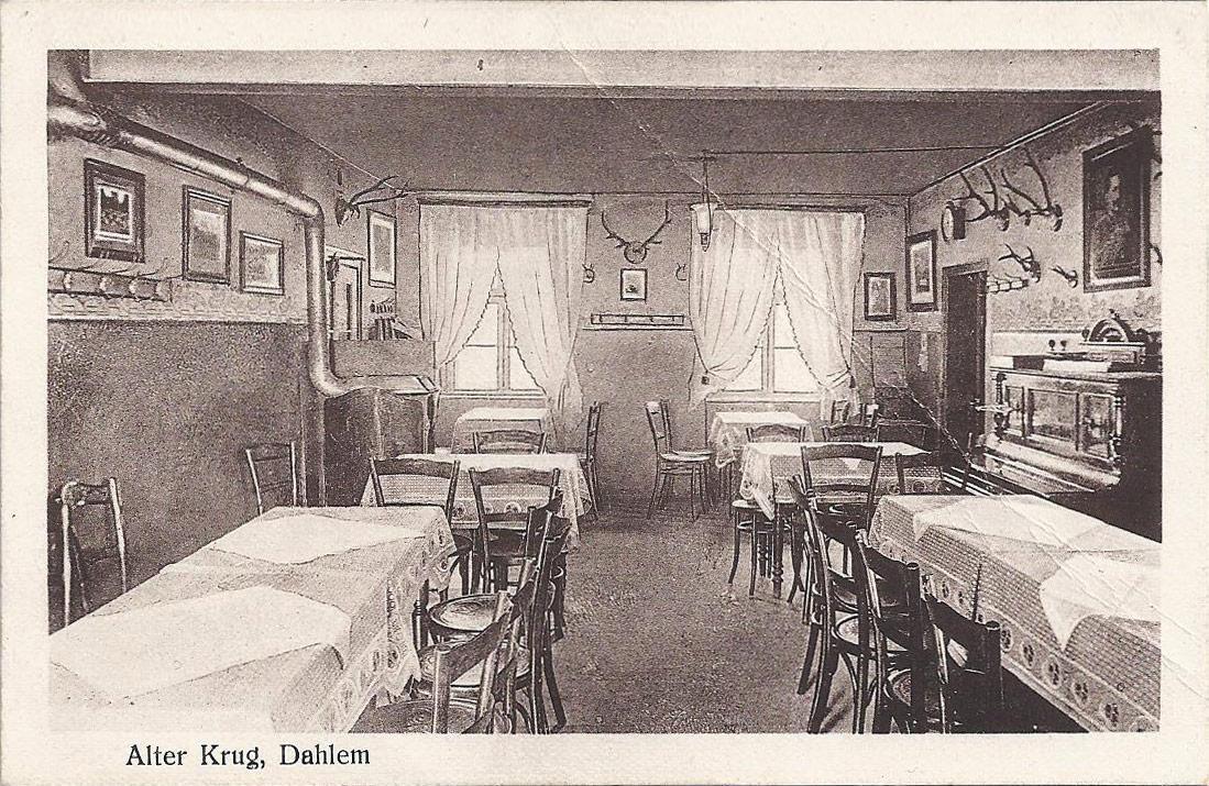 Postkarte Alter Krug